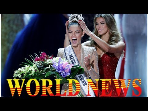 [WORLD NEWS]Miss South Africa demi-leigh nel-peters WINS Miss Universe