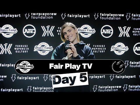 Fair Play Dance Camp 2021 | Day 5 [FAIR PLAY TV]