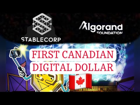 Stablecorp Launches QCAD Stablecoin on ALGORAND ALGO Blockchain