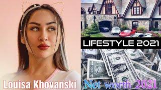 Louisa Khovanski (Social Media Personality) Lifestyle, Biography, Facts, Net worth, 2021...