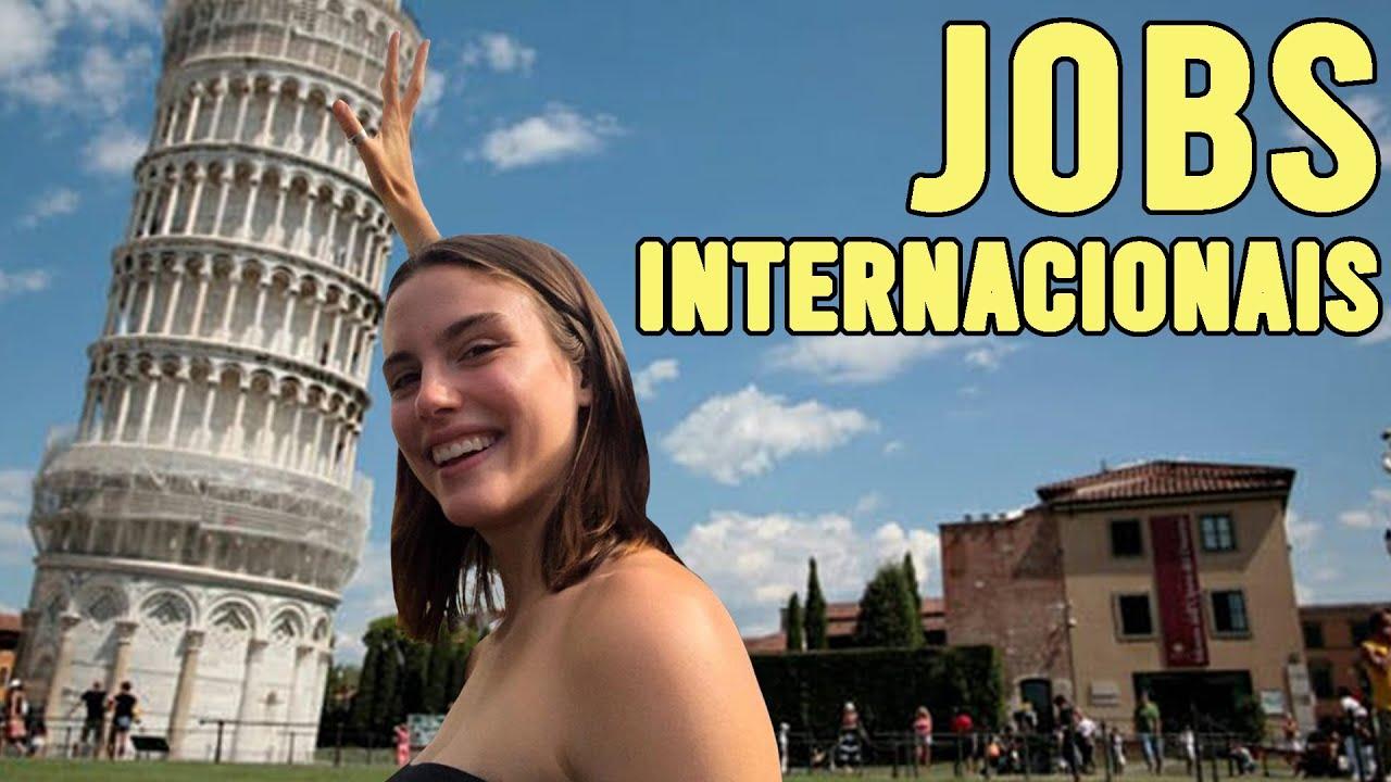 COMO CONSEGUIR JOBS FORA DO BRASIL l MODELO INTERNACIONAL