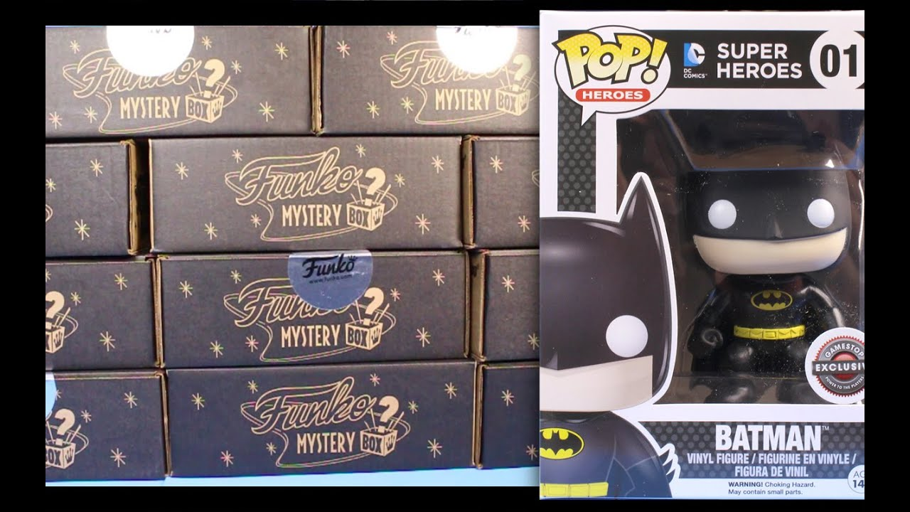 Gamestop Black Friday Funko Pop 11 Mystery Box Figures
