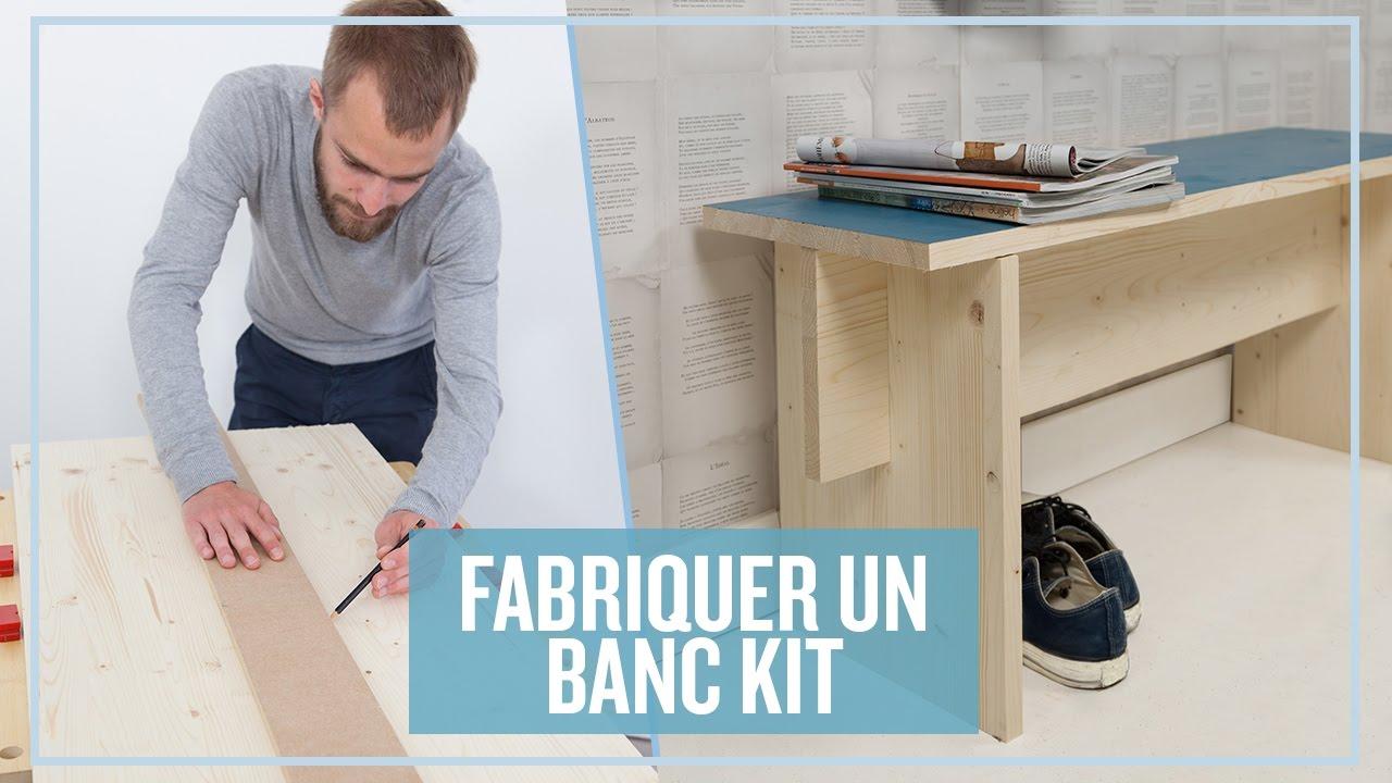 Fabriquer Un Banc Kit Youtube