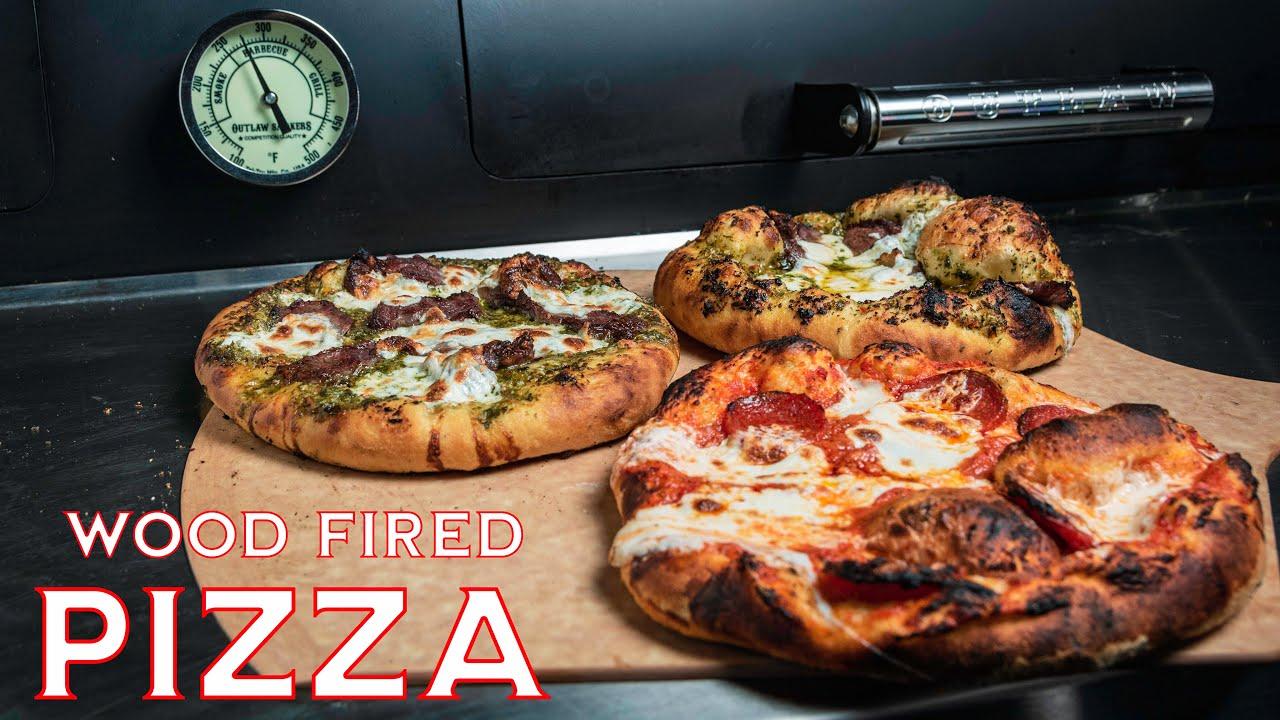 Wood Fired Steak Pizza