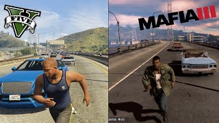 GTA 5 vs MAFIA 3 -Which Game Has Smarter And Better NPCs