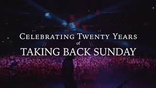 Taking Back Sunday 20 - Album and Tour Info