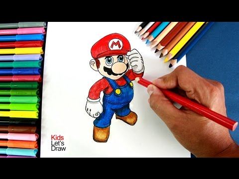 Como Dibujar A Super Mario Bros How To Draw New Super Mario Bros