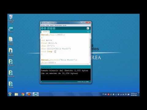 Arduino Tutorial 3: Variables Basicas