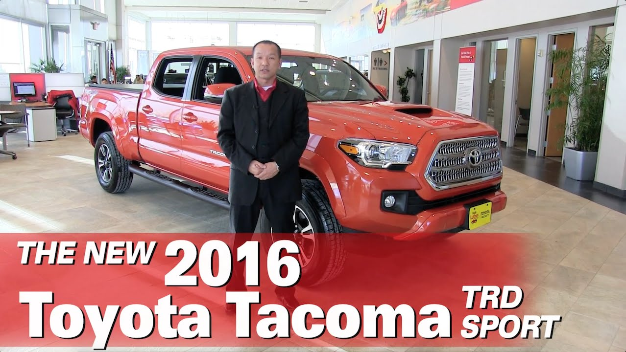 (Hmong) All New 2016 Toyota Tacoma Sport Minneapolis St Paul Golden Valley Brooklyn  Park MN