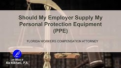 Personal Protection Equipment | Workers Compensation Lawyer | Boca Raton