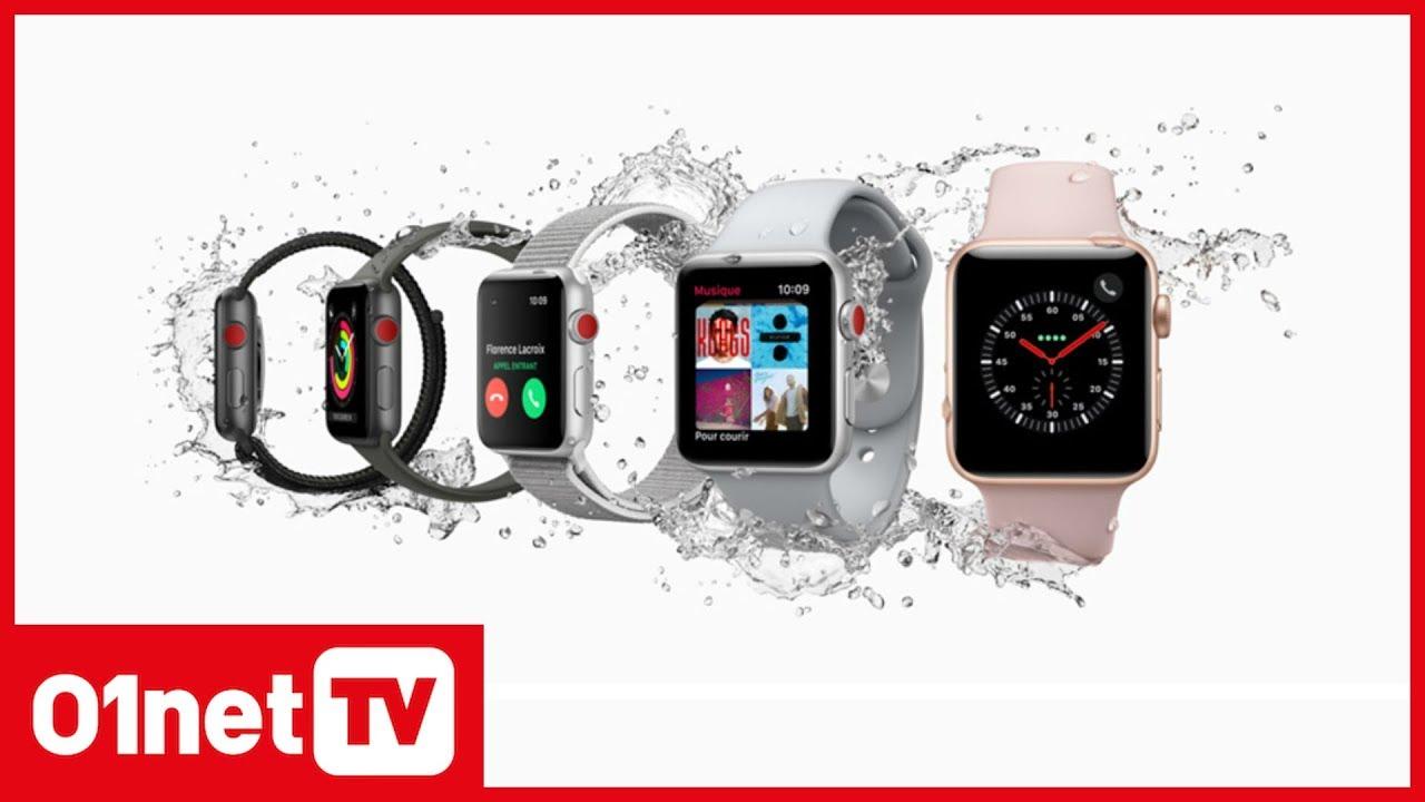 apple watch series 3 la montre connect e devient autonome youtube. Black Bedroom Furniture Sets. Home Design Ideas