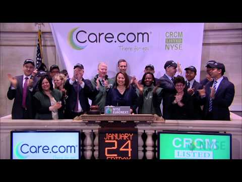 Care.com Lists IPO on the New York Stock Exchange
