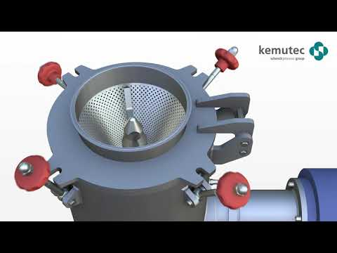 Granulation Grinding Cone Mill Machine From Kemutec For Gentle Milling