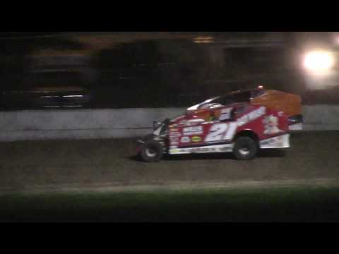 Ransomville Speedway Modified Feature Highlights 6-30-17