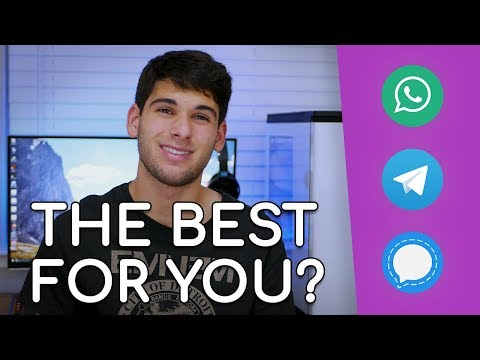 WhatsApp vs Telegram vs Signal: Which is the BEST?!