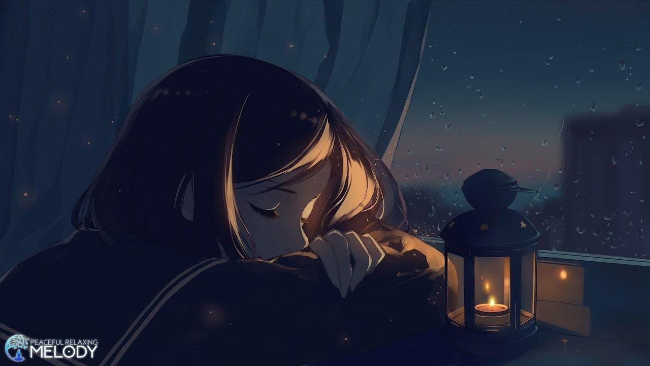 Música Relajante Piano Lluvia Suave y Truenos para Dormir, Aliviar el Estrés ♪ Calmar la Mente