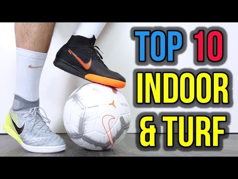 ab56e5281dc TOP 10 INDOOR   TURF FOOTBALL SHOES 2018 - YouTube