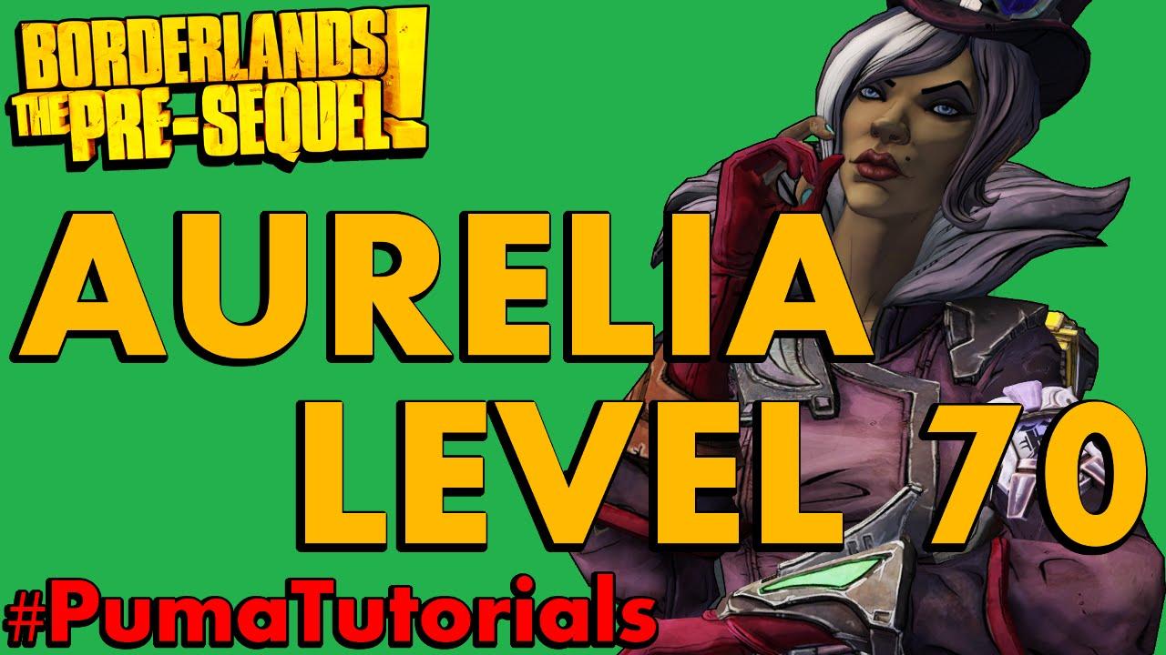 Borderlands: The Pre-Sequel! Lady Aurelia Hammerlock The Baroness Endgame  Build #PumaTutorials