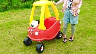 子供用の車 おもちゃカー 遊び 乗用玩具 / Little Tikes Cozy Coupe for Kids