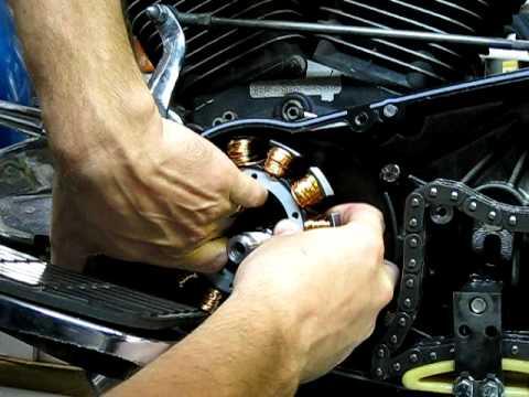 Stator Repair  5a of 9  Installing New Stator Take 1  YouTube