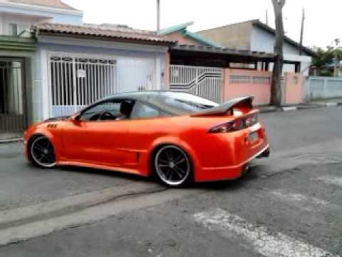 mitsubishi eclipse gs turbo laranja custom