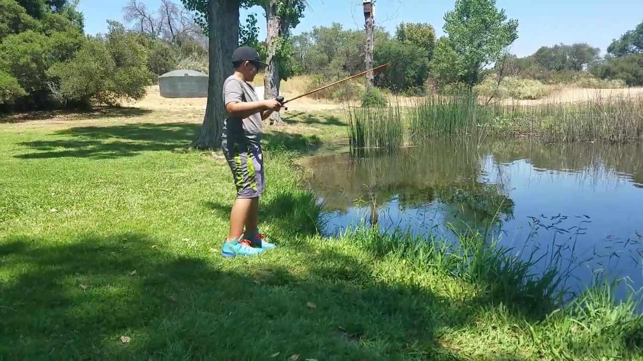 San diego pond fishing youtube for Fishing license san diego