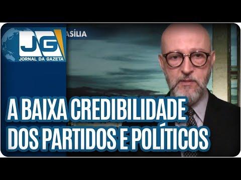 Josias de Souza/A baixa credilidade dos partidos e dos políticos brasileiros