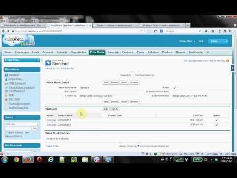 Salesforce PriceBook for Marketing Users
