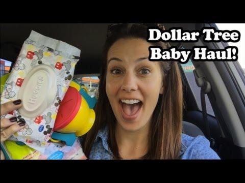 Dollar Tree Baby Haul