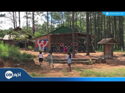 النفايات مقابل التعليم في هذه المدرسة بكمبوديا  - نشر قبل 3 ساعة