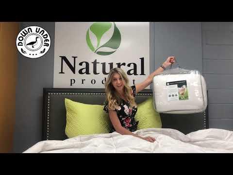 Australian Wool Fill Duvet Comforter Blanket Comforter From Down Under Bedding