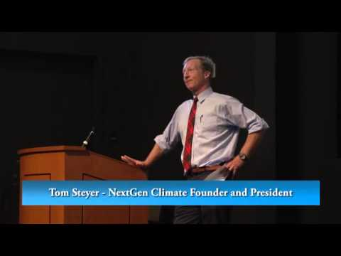 Energy Leadership Lecture: Tom Steyer - Confronting Climate Change A Political Reality Check