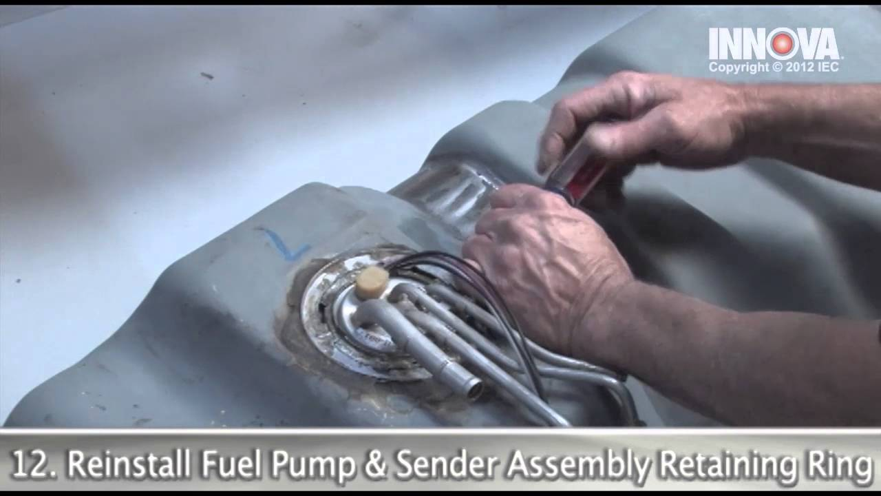 How To Change Fuel Tank 1997 Gmc Sierra Youtube