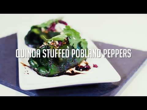 Ginger and Baker: Quinoa Stuffed Poblanos