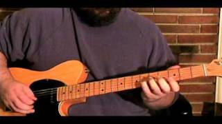 Lesson Example - In The Style Of Pop Country Guitar