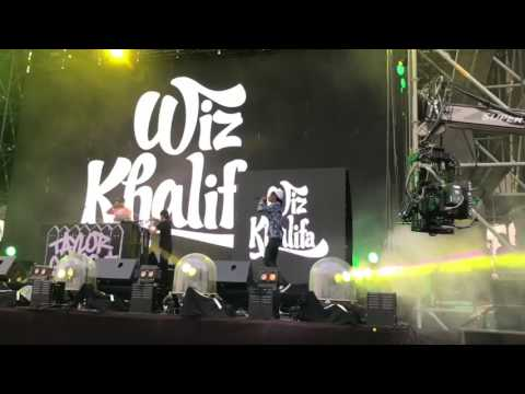 Wiz Khalifa in Japan Nagashima Wired Music Festival 2017