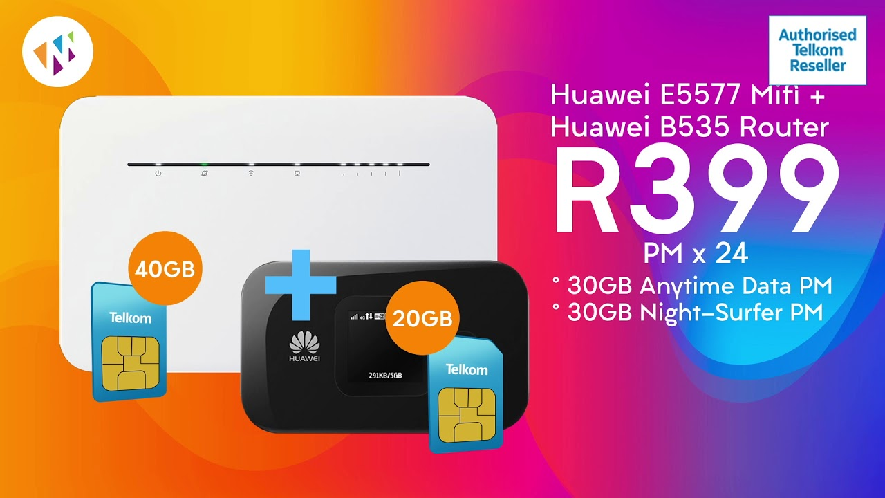 Telkom Big December Deal 60gb Data 2 Routers For Just R399pm Youtube
