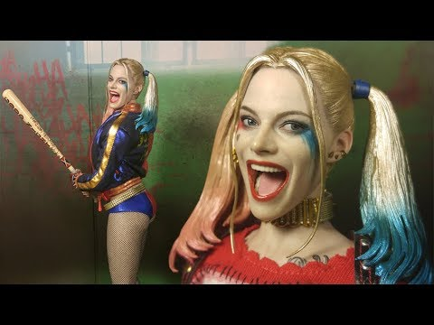 Hot Toys Suicide Squad Harley Quinn 1/6 Scale Action Figure Review