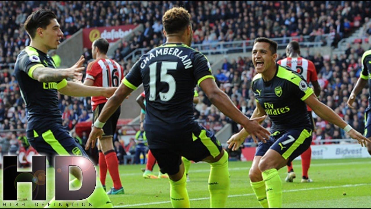 Download Sunderland vs Arsenal 1-4 All Goals Highlights 29/10/2016