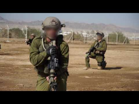 The elite Eilat Counterterrorism unit in training exercise