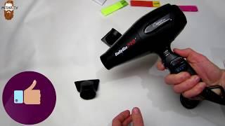 Фен для волос Babyliss CARUSO Ionic BAB 6520RE. Полный обзор советы,сравнение.#babylisspro
