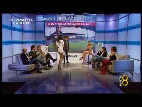 Momento Caffè 10 a 'Si gonfia la Rete' su Canale8