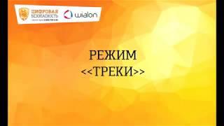 Обучение пользователей Wialon. Треки