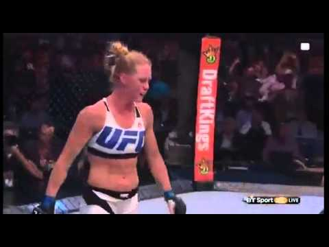 Ronda rousey gets knocked the fuck out!