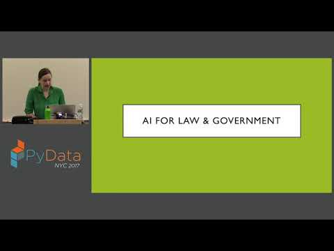 Aileen Nielsen - The law and ethics of data driven artificial intelligence