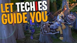 Let Techies Guide You - DotA 2 Funny Moments