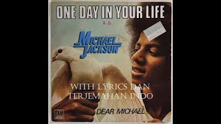 Download Video Michael Jackson - One Day in Your Life with Lyric + Terjemahan Indonesia MP3 3GP MP4