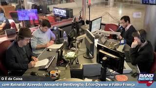 """""""O É da Coisa"""" com Reinaldo Azevedo - 28/08/2019"""