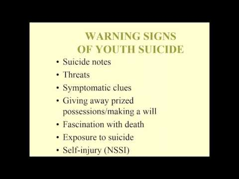 Suicide Prevention and Intervention for Schools webinar with Scott Poland, Ed.D.