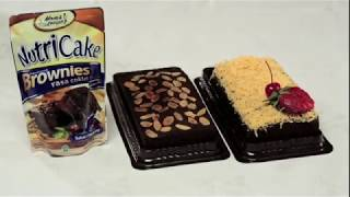 Tutorial Nutricake Brownies